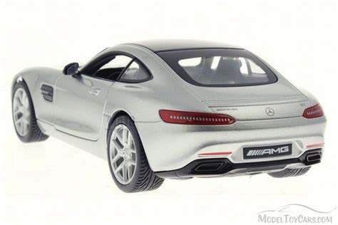 model cars mercedes mercedes amg gt silver maisto 31134 1 24 scale