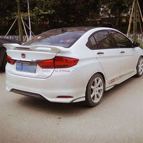 Spoiler Honda City for honda city spoiler high quality abs material car rear