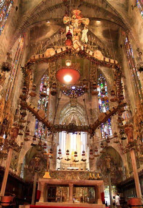serre de palma opening hours mallorca palma cathedral la seu gaudi s canopy