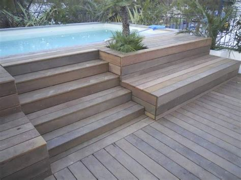 quel bois pour terrasse piscine 4006 habillage sur mesure d une piscine hors sol 224 allauch