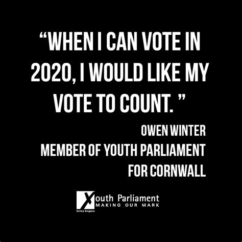 Voting On What To Call The In My W by 200 000 Sign New Member Of Youth Parliament S