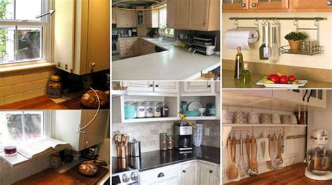 gagner cuisine 21 astuces g 233 niales pour gagner de la place dans la cuisine