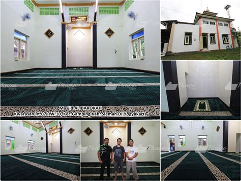 Karpet Masjid Jogja masjid al barokah ging sleman jogja picasso rugs