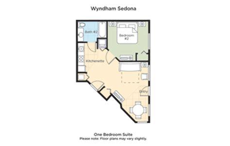 sedona summit resort floor plan club wyndham wyndham sedona
