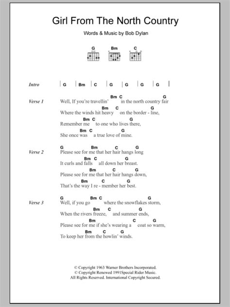 Country Girl Guitar Chords