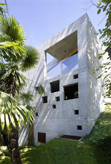 Wespi De Meuron by Concrete House By Wespi De Meuron Romeo Architects In