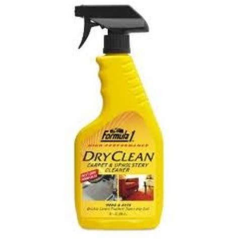 upholstery cleaning spray car care products formula 1 carpet upholstery spray