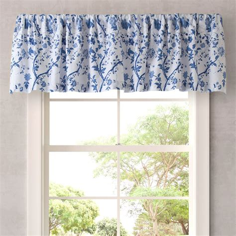 Blue And White Kitchen Curtains by Blue And White Flower Curtains Curtain Menzilperde Net