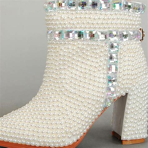 Wei E Stiefel Hochzeit by Kaufen Gro 223 Handel Wei 223 Braut Stiefel Aus China Wei 223