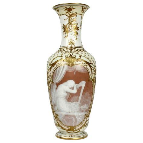 museum quality kpm berlin p 226 te sur p 226 te porcelain vase