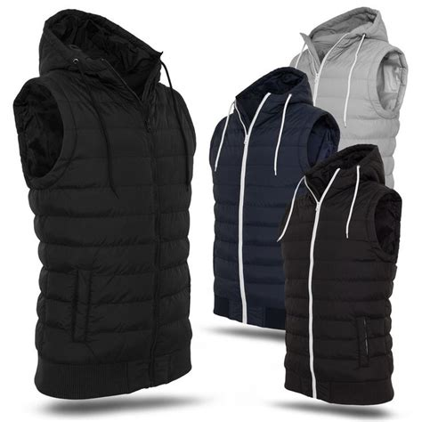 Thin Quilted Vest by Vest S Classics 174 Small Hooded Vest Thin