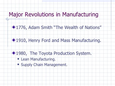 Lean Operations And Systems Mba by The Toyota Production System A Transition From Mass