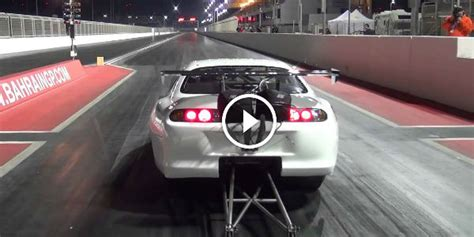 worlds fastest import   crazy fast  supra   world  ekanoo racing runs
