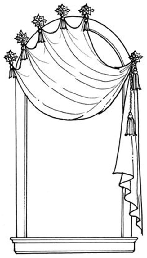 curtain drawing coloring pages curtain drawing coloring pages