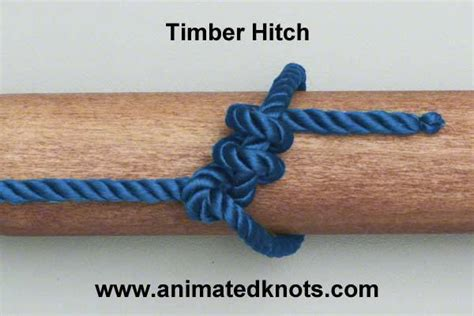 Hitch Knot - 1 4 learners in the tying and use of a range of