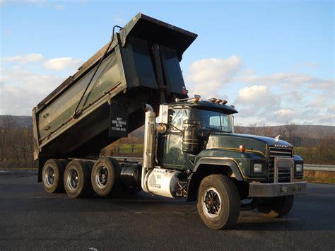 dump truck used dump trucks for sale in pa