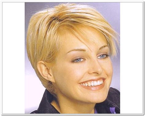 hairstyles for thin hair on top women best short hairstyles for girls ohtopten