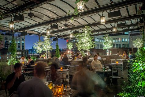 gallow green nycs rooftop space enchants guests