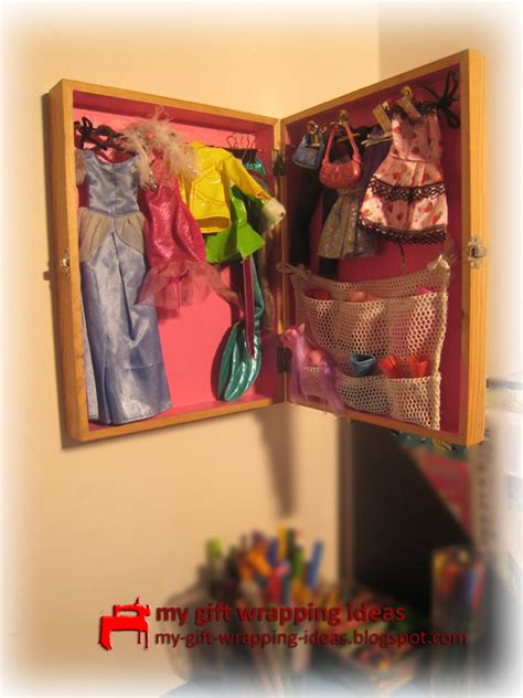 Closet For Doll Clothes my gift wrapping ideas how to make a doll s clothes closet quot ikea quot for barbies