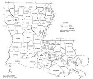 Louisiana County Map by Just Out Today 2 Year Old Data On Personal Income Growth