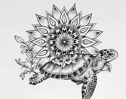mandala tattoo hawaii turtle mandala tattoo commission pinteres