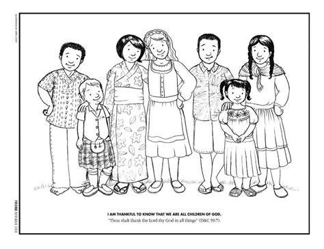 lds coloring pages 2016 2008 kids helping each other coloring page coloring home