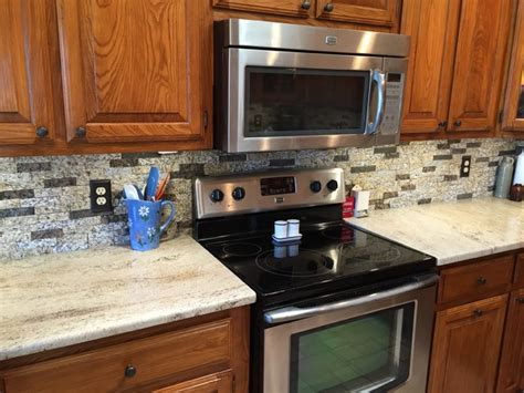 granite with split backsplash