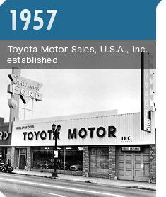 When Was Toyota Founded Toyota On Toyota Camry Finance And Green Cars