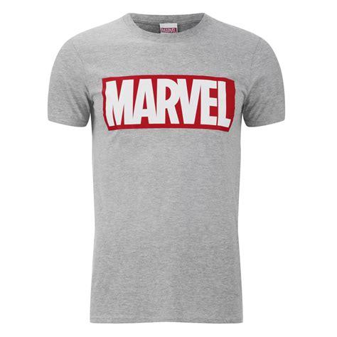 Logo T Shirt marvel comics s logo t shirt sports grey