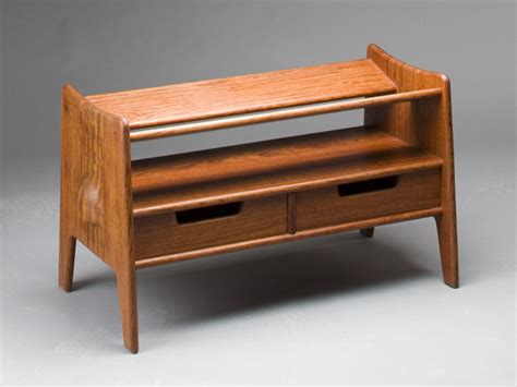 Shoe Bench By Fine Woodworker Scott Morrison