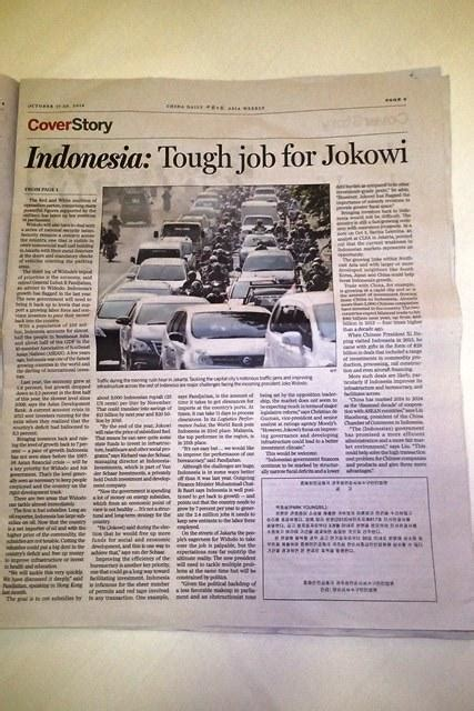 Muhammad Sebagai Pedagang Ed Cover Baru comment be comment jokowi jadi cover story tabloid china daily