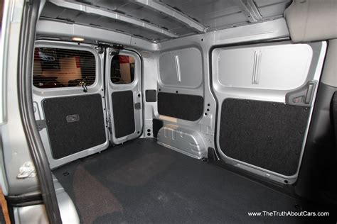 nissan work van interior 2014 nissan nv200 cargo van 1 the truth about cars