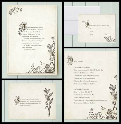 Wedding Story Book Cover Page by Bookish Wedding Invitations For Your Literary Lovefest