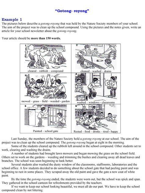 format essay report pt3 andrew choo upsr tips pmr tips spm tips essay gotong