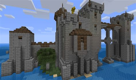 Small Kitchens Ideas Isolated Island Fort Minecraft Project