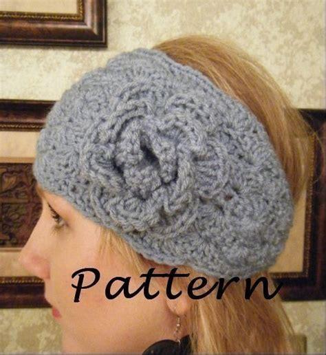 head wrap crochet pattern crochet headwrap pattern