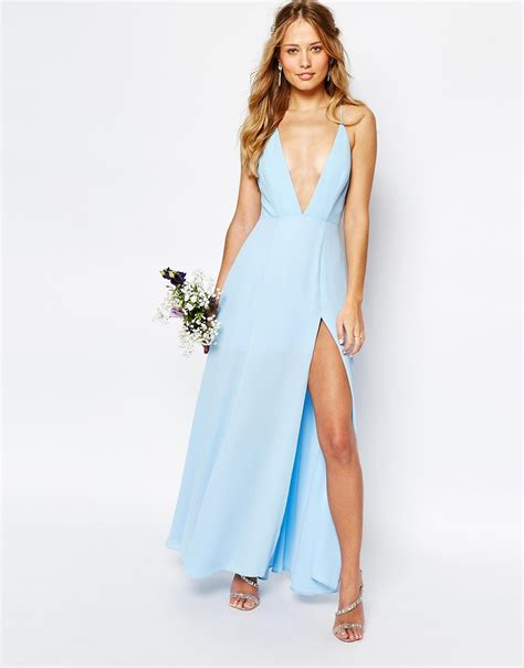 Dress Valentina fame partners valentina maxi dress with cut out back in