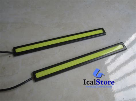 Led Drl Plasma 14 Cm 1 Set Warna Biru Blue lu daytime running light drl led plasma ical store ical store