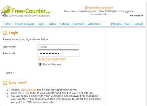 membuat blog free cara membuat free counter di blog like qng