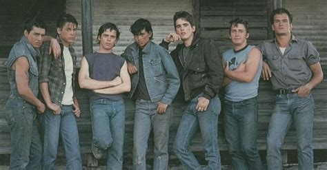 rob lowe patrick swayze made tom cruise look lobotomized the outsiders 1983 tom cruise rob lowe c thomas howell