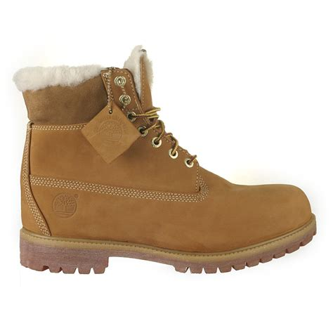 timberland boots with fur timberland mens heritage 6 quot boots waterproof fur fleece