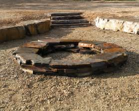Rock Firepit Wood Burning Firepits Woodstone Deco Rock