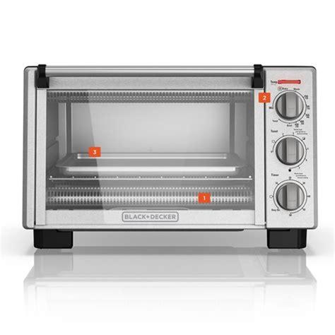 6 slice toaster oven black decker
