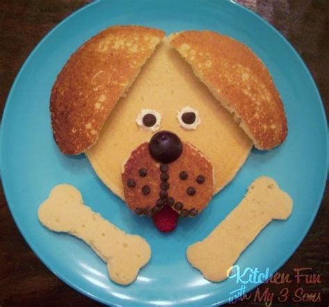 can dogs pancakes easy cupcakes kitchen with my 3 sons