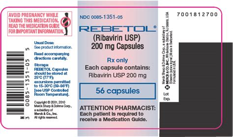 Rebetol Ribavirin 200 Mg Anti Hepatitis Buy Rebetol 200 Mg Without A Prescription