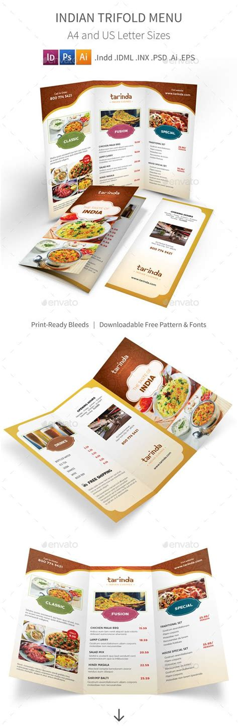 Pin By Best Graphic Design On Best Food Menu Templates Pinterest Menu Template Restaurant Best Food Templates