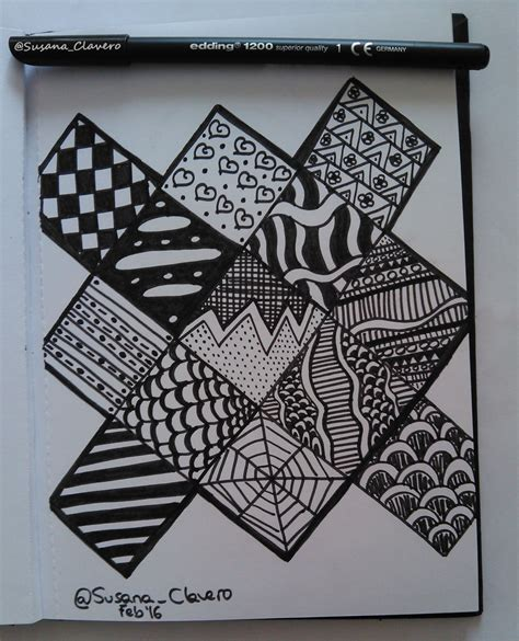 imagenes zentangle 191 qu 233 es el zentangle art susana clavero