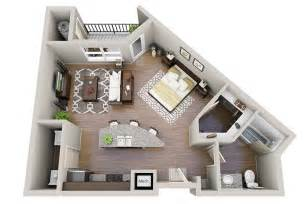Space Saving House Plans Studio Apartment Floor Plans