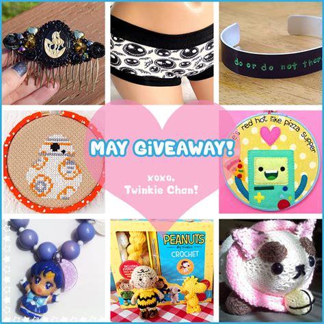 Sponsor Giveaway - may blog sponsor giveaway twinkie chan blog