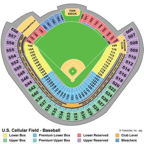 us cell seating chart chicago white sox collecting guide tickets jerseys